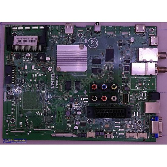"""17MB120, 23432506, VES550QNUS-2W-U01, VESTEL 4K SMART 55UD9400 55"""" LED TV, MAIN BOARD"""