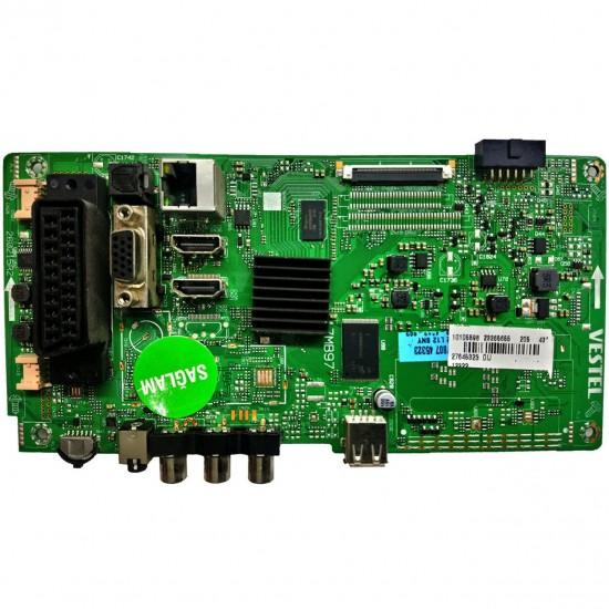 17MB97, 23365655, 23347807, Regal 43R6000FM, Main Board, Ana Kart, VES430UNDL-2D